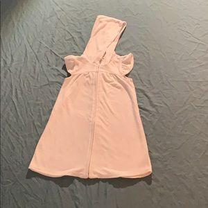 White Kids Towel Hooded Dress